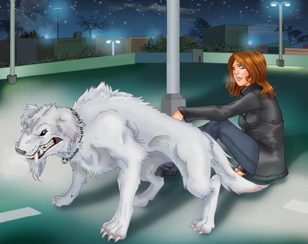 Shapeshifting Demon Dog: The Black Dog
