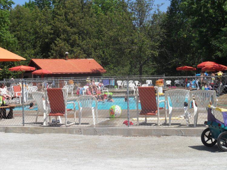 Camp Yogi Door Pools