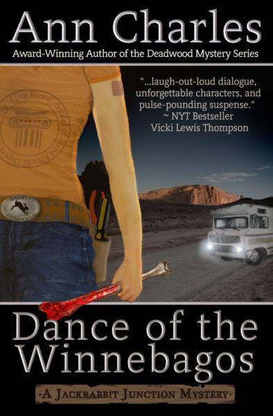 Dance of the Winnebagos, funny mystery novel