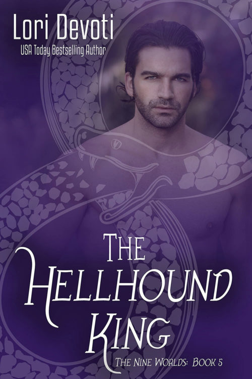 The Hellhound King Cover Art