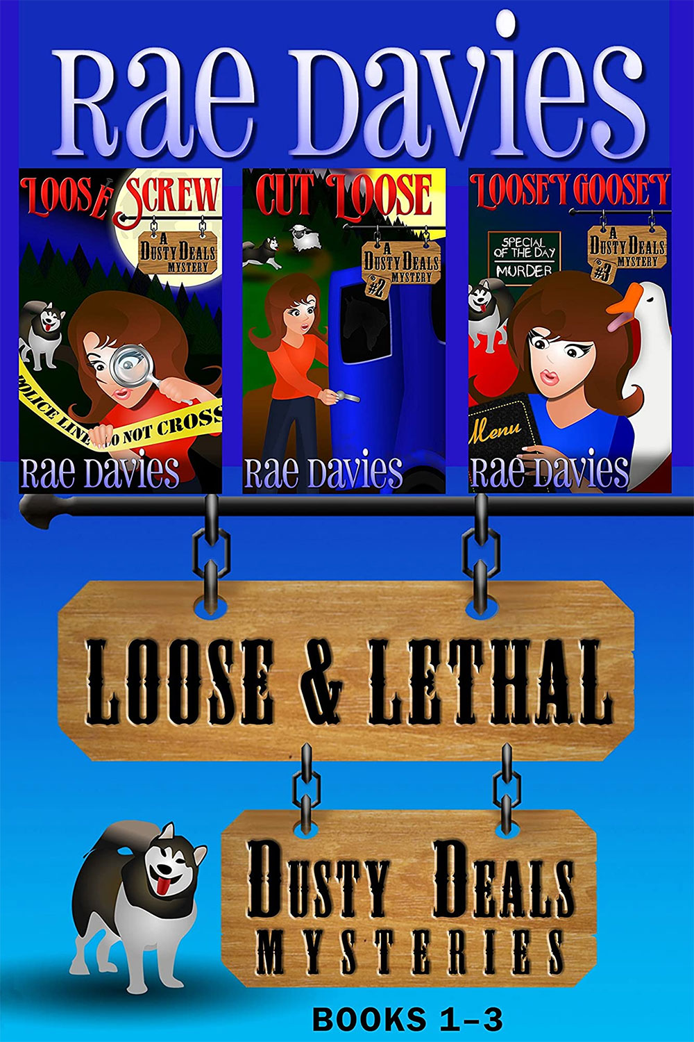 Loose & Lethal: Dusty Deals Mysteries Box Set (Books 1-3)