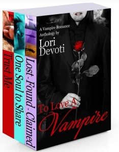 To Love a Vampire, vampire romance anthology