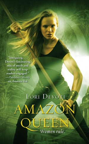 Amazon Queen, urban fantasy