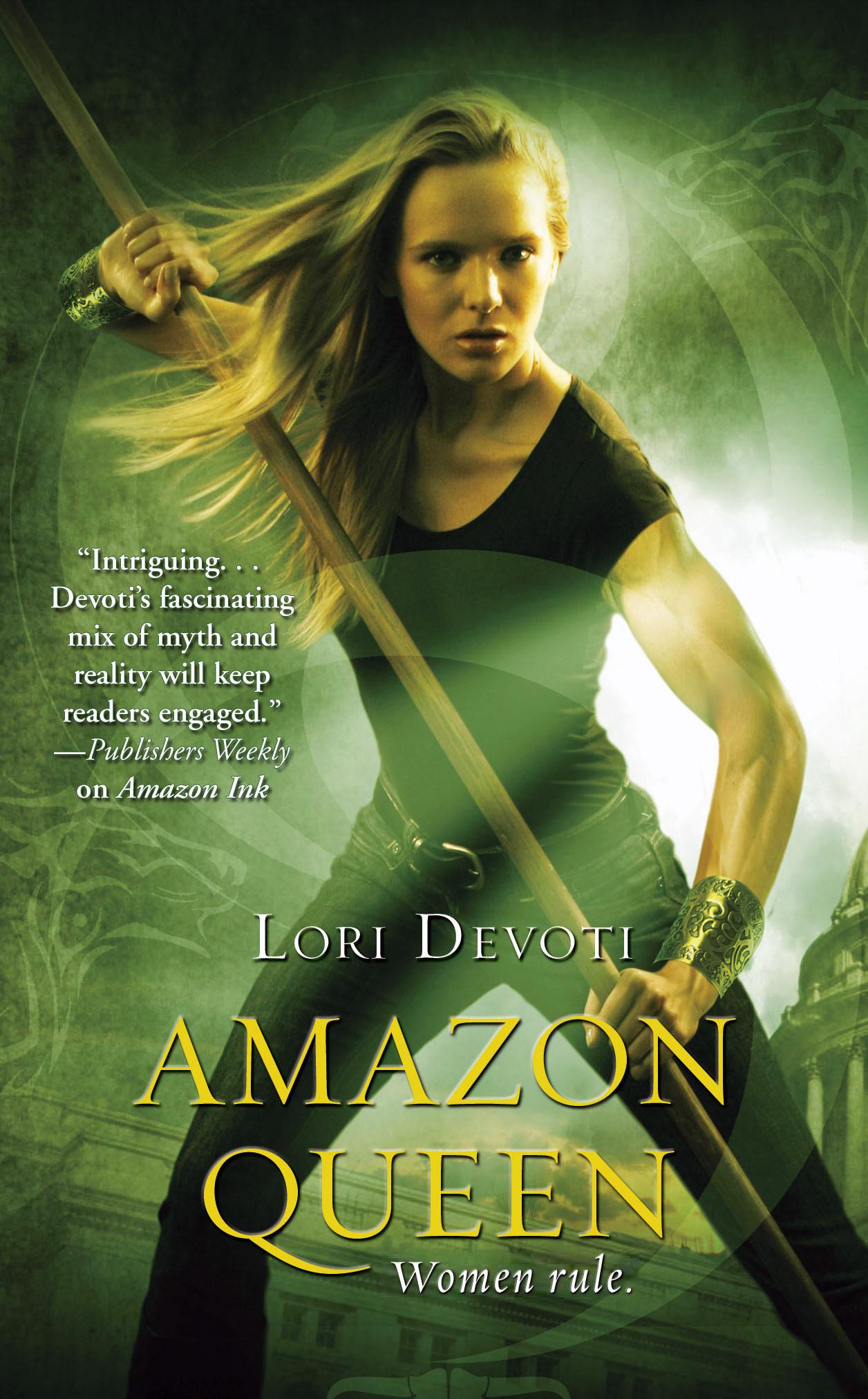 Amazon Queen, urban fantasy novel