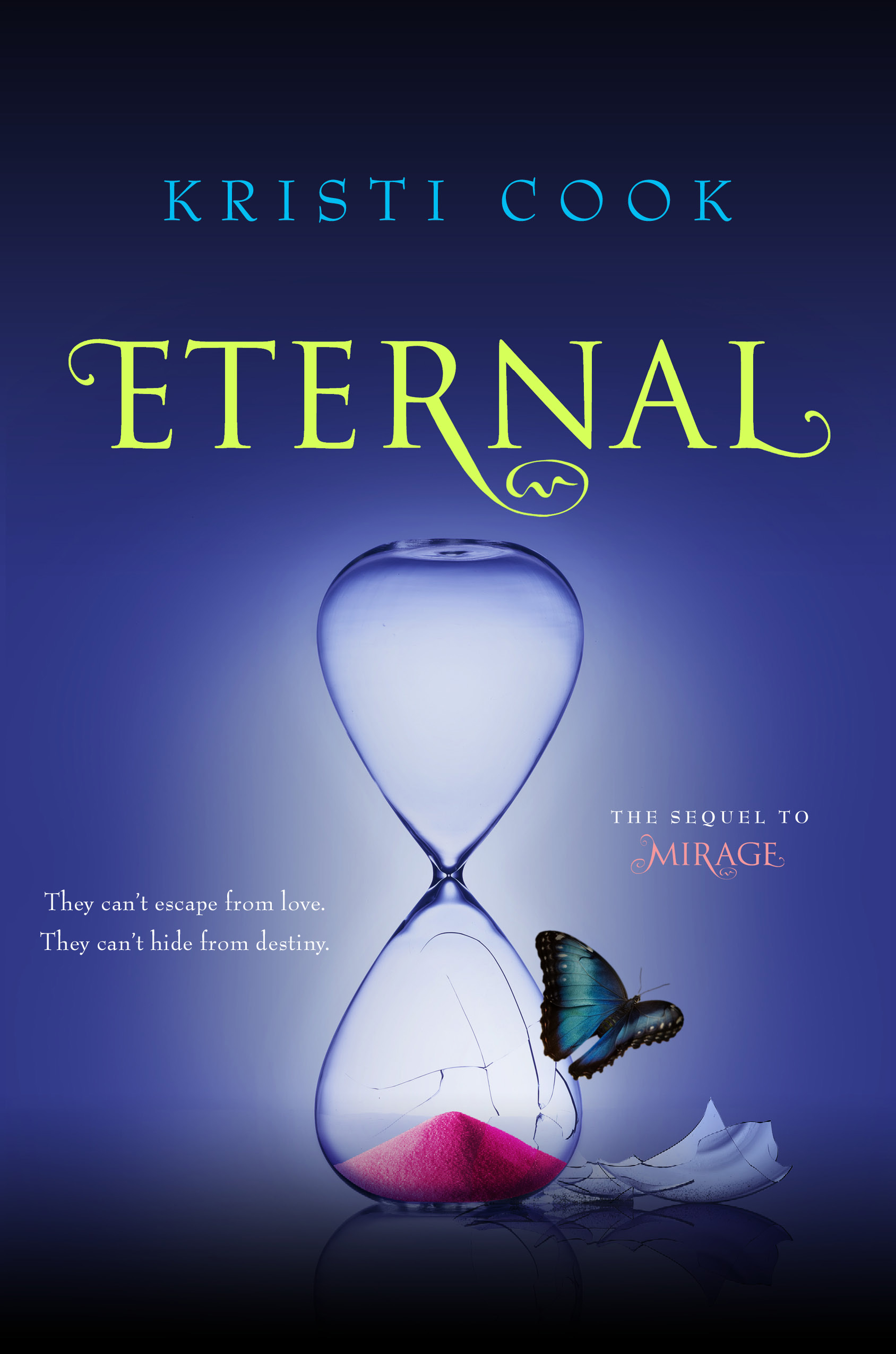ETERNAL, vampire young adult novel