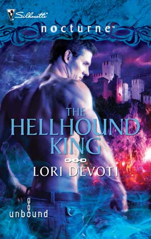 The Hellhound King, dark paranormal romance shape shifter