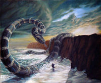 The Midgard Serpent, Jörmungand