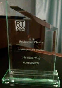 Romantic Times Reviewers Choice Award for Best Harlequin Nocturne