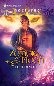 Zombie Moon paranormal romance