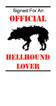 Hellhound Lover Bookplate