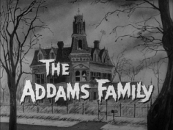The Addams Family show logo